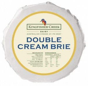 R/W  BRIE DOUBLE KING FISHER APP1KG