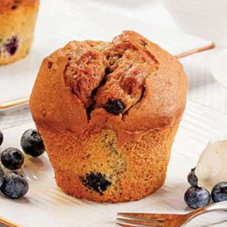 GLUTEN FREE BLUEBERRY MUFFINS tray of 6 - Priestleys Gourmet Delights