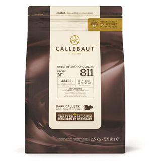 CHOCOLATE 54.5% CALLEBAUT B/SWT DRK 2.5K