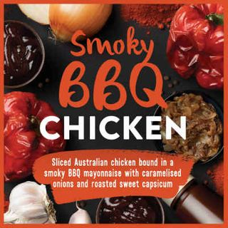 CHICKEN SANDWICH FILLING SMOKEY BBQ 1KG