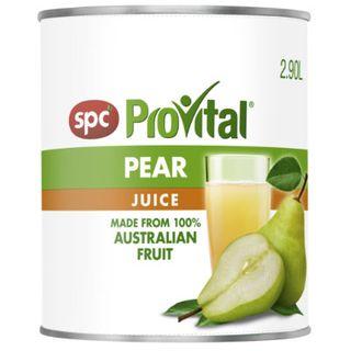 PEAR JUICE 2.9LTR SPC PRO VITAL