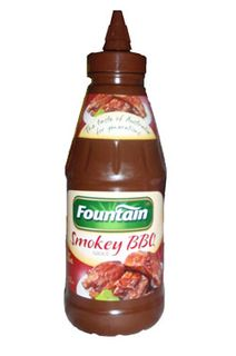 Bbq Sauce Smokey 500Ml Fountain