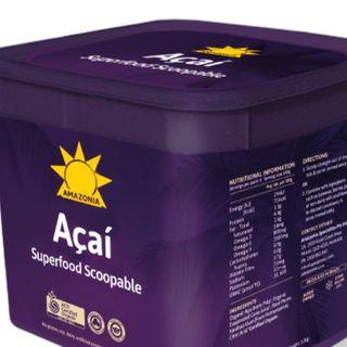 Acai Organic Superfood Scoopable 3Kg Amazonia