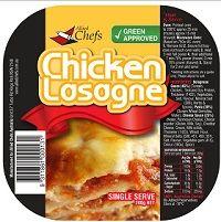 Lasagne Chicken 220Gx24 Allied Chef