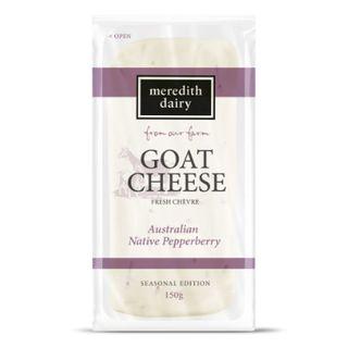 Goats Pepperberry Chevre 150G Meredith