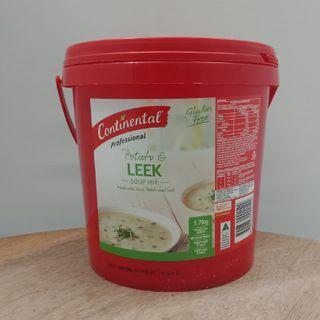 Soup Potato & Leek 1.7Kg Continental
