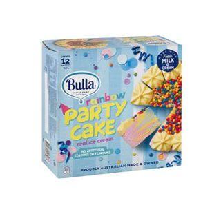 Ice Cream Rainbow Party Cake 1.5Lt Bulla