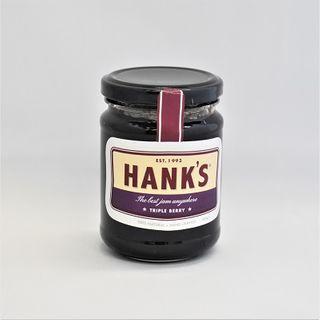 Hanks Triple Berry Jam 285Gm