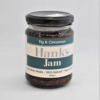 Hanks Fig And Cinnamon Jam 285Gm