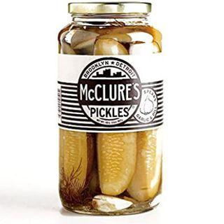 Mcclures Garlic & Dill Spear Pickle 907Gm Jars
