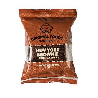Single Wrapped New York Chocolate Brownie 75G X 10