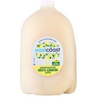 Juice Lemon No Presertatives 3 X 4Lt