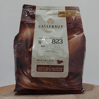 CALLEBAUT MILK COUVERTURE 2.5KG
