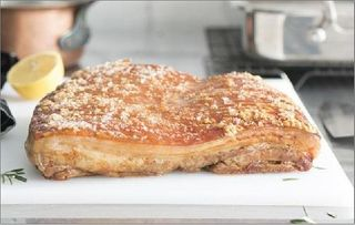 R/W Pork Belly Roasted App4Kg Primo