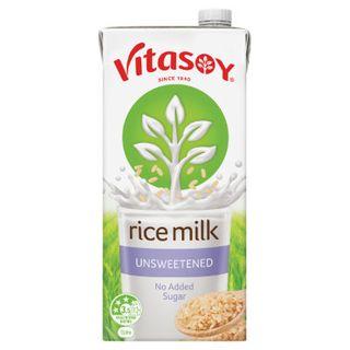 Rice Milk Unsweetened Uht 1Lt Vitasoy