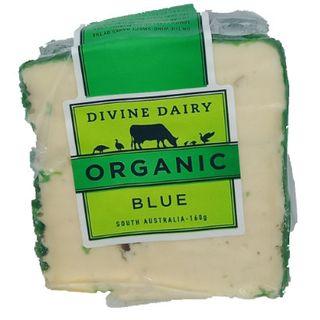 Cheese Blue Organic 160G