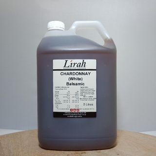 Lirah  Chardonnay Balsamic Vinegar 5L