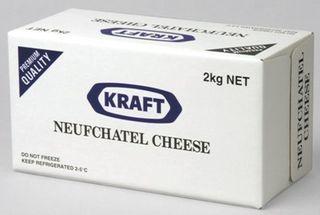 CREAM CHEESE KRAFT NEUFCHATEL 2KG