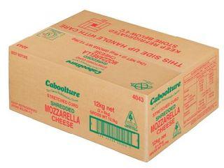 Mozzarella Shredded Caboolture  12Kg
