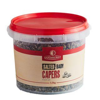Capers Baby In Salt 1Kg Sandhurst