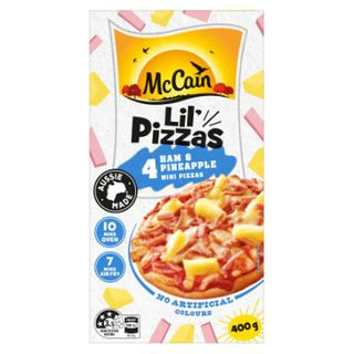 HAM & PINEAPPLE PIZZA SINGLES 32S MCCAIN
