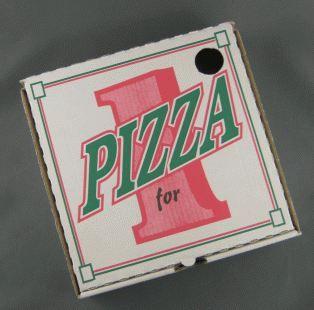 PIZZA BOX CORRO PRINTED 6.5 INCH 100S