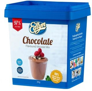 Mousse Mix Chocolate 2Kg Edlyn G/F