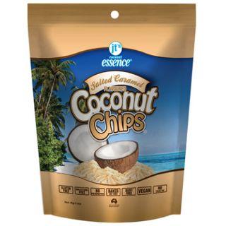 COCONUT CHIPS SALT CARAMEL 40GX10 JTS