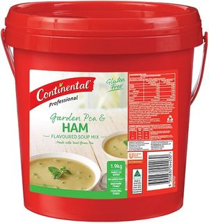 SOUP PEA & HAM CAN 1.9KG CONTINENTAL
