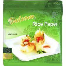 Rice Paper 22Cm 250G Valcom