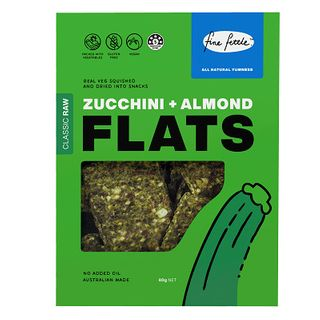 Flats Zucchini Almond 80G X6