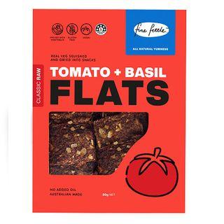 Flats Tomato Basil 80G X6