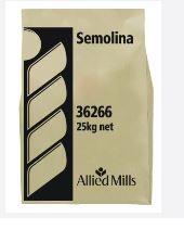 Semolina Durum Wheat 12.5Kg Allied Mills