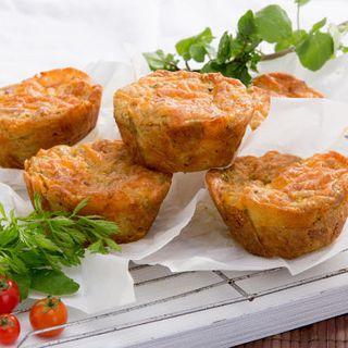 Savoury Vegie Muffins GF 80Gx20