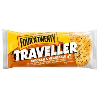 Pie Traveller Chick Veg 160Gx24 4N20
