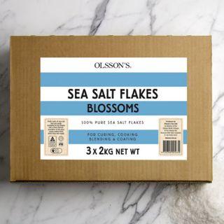 Sea Salt Blossoms 3 X 2Kg Carton Olssons