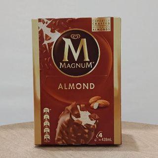 Magnum Almond 4Pk 428Ml