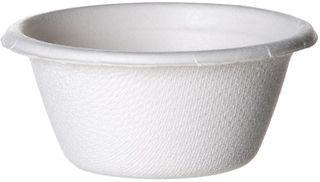 Container 2oz Sugarcane White Eco Cup x 2500