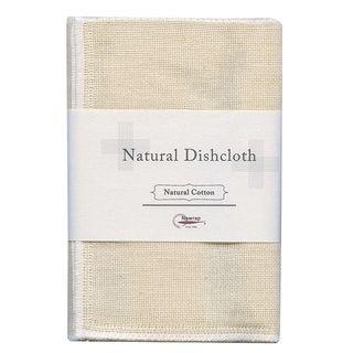 NAWRAP NAT DISHCLOTH 35 X 35CM - COTTON