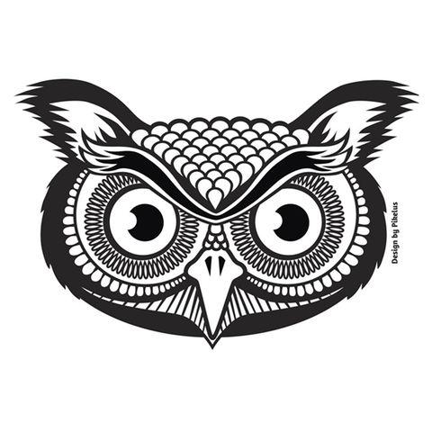 FLORENCE DISH CLOTH - BLACK OWL