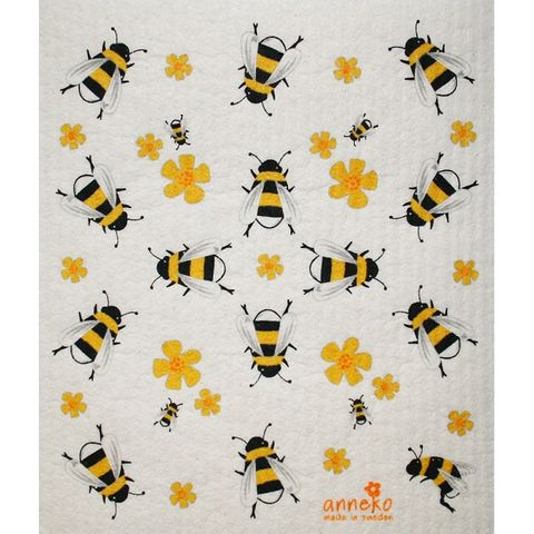 FLORENCE BY ANNEKO DISH CLOTH - BEES