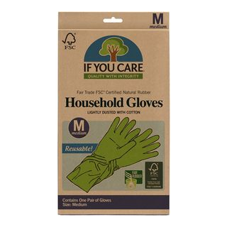 IF YOU CARE HOUSEHOLD GLOVES MEDIUM