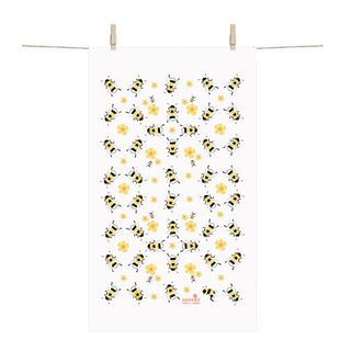 FLORENCE BY ANNEKO TEA TOWEL - BEES