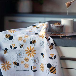 FLORENCE BY DP TEA TOWEL - HONEY BEE