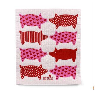 FLORENCE BY ANNEKO DISH CLOTH - PIG