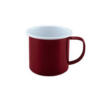 FALCON DELUXE 2TONE RED & WHITE MUG 350ML