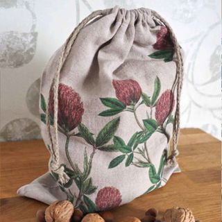 FLORENCE BY LR BREAD BAG-RED FLORAL