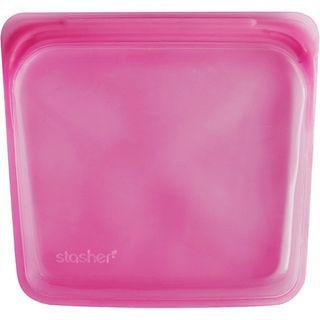 STASHER SANDWICH BAG - RASPBERRY