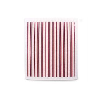FLORENCE BY DP VERTICAL DISH CLOTH - RED