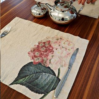 FLORENCE BY LR PLACEMAT - HYDRANGEA